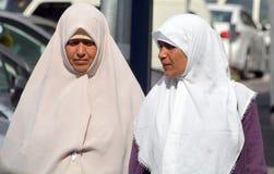 Veiled woman Stock Photos