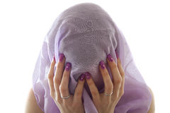 Veiled women Stock Photos