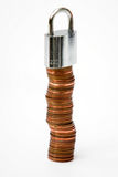 Veilig geld Royalty-vrije Stock Fotografie