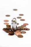 Veilig geld royalty-vrije stock foto's