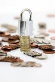 Veilig geld royalty-vrije stock afbeeldingen