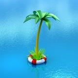 Veilig tropisch avontuur Stock Afbeelding