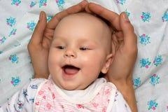Veilige baby stock afbeelding