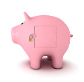 Veilige Besparingen Royalty-vrije Stock Afbeelding