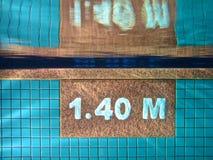 Veilige Diepte Stock Fotografie