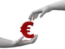 Veilige euro stock foto
