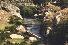 Veilige rivier stock foto