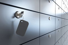 Veilige sleutel Stock Afbeelding