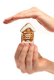 Veiligheid en bescherming van huisvesting Royalty-vrije Stock Foto