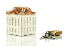 Veiligheid en huisverzekering stock foto's