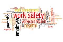 Veiligheid op het werk Stock Foto's