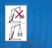 Veiligheid op het werk Stock Foto