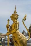 Veiligheid van koninklijke tempel Stock Afbeeldingen
