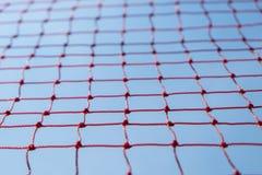 Veiligheids rode netto stock afbeeldingen