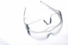 Veiligheidsbeschermende brillen stock afbeelding