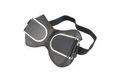 Veiligheidsbrillen voor geïsoleerd lassen Stock Foto's
