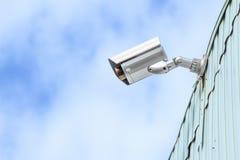 Veiligheidscamera Royalty-vrije Stock Afbeelding