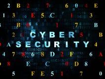 Veiligheidsconcept: Cyberveiligheid op Digitaal Stock Foto