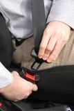 Veiligheidsgordel stock fotografie