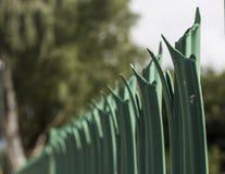 Veiligheidsomheining Fence Stock Foto