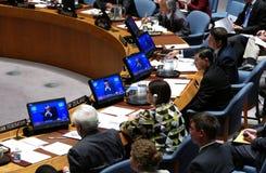 Veiligheidsraad 7760 de samenkomende Verenigde Naties royalty-vrije stock foto's