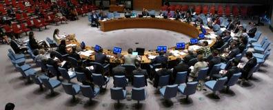 Veiligheidsraad 7760 de samenkomende Verenigde Naties royalty-vrije stock foto