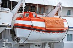 Veiligheidsreddingsboot royalty-vrije stock foto