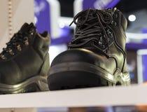 Veiligheidsschoen; beschermende schoen Royalty-vrije Stock Foto