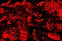 Veille de la toussaint abstraite. illustration libre de droits