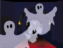 Veille de la toussaint ghosts Image libre de droits