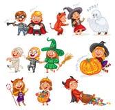 Les enfants sautent pour la joie illustration de vecteur for Jeu scout exterieur