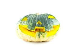 Veille de la toussaint Pumpkin.Kindly Jack Photographie stock libre de droits