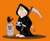 Veille de la toussaint Reaper. Photo stock