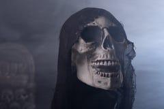 Veille de la toussaint Reaper sinistre photo stock