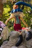 Veille de la toussaint Scarcrow Images stock