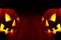 Veille de la toussaint. un-fumée Image stock