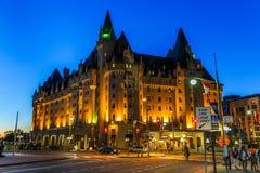 Veilleuse, Ottawa du centre, Ontario, Canada images libres de droits