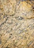 Veines chaotiques de quartz en chaux Image libre de droits
