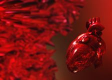 Veins and arteries, circulatory system Stock Image