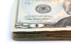 Veinte cuentas de dólar Imagen de archivo