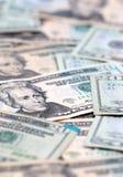 Veinte cuentas de dólar Fotografía de archivo libre de regalías