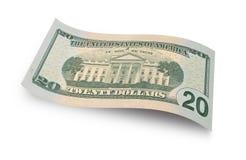 Veinte dólares de cuenta Imagenes de archivo