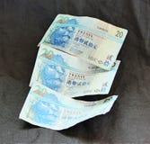 veinte dólares de Hong Kong Fotografía de archivo