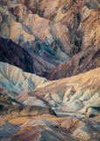 Veinte mula Team Canyon en el parque nacional de Death Valley Foto de archivo