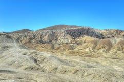 Veinte mula Team Canyon Road, Death Valley Imágenes de archivo libres de regalías