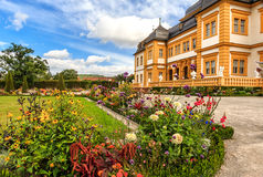 Veitshoechheim Palace near Wuerzburg known of the surrounding Rococo Garden (built 1682), Germany Royalty Free Stock Image