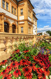 Veitshoechheim Palace near Wuerzburg known of the surrounding Rococo Garden (built 1682), Germany Stock Image