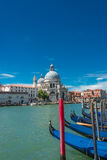 Veiw στο χαιρετισμό della Di Σάντα Μαρία βασιλικών, Βενετία, Ιταλία Στοκ φωτογραφία με δικαίωμα ελεύθερης χρήσης