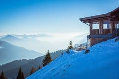 Veiw av Dolomites Royaltyfri Fotografi