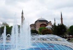 Veiw Costantinopoli della città fotografia stock